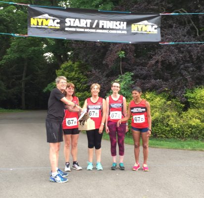 Relays May 2018 - Race Director's Prize Team