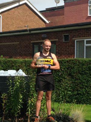 Josh, winner of first Eston Nab Challenge 10k