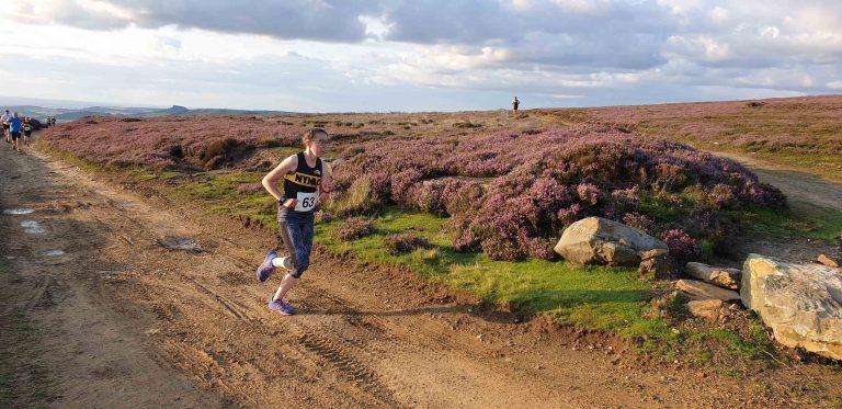 Eddie Uphill Mile 14 - North York Moors Athletic Club